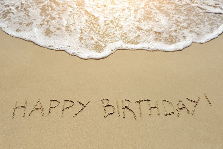 Happy Birthday Beach Images