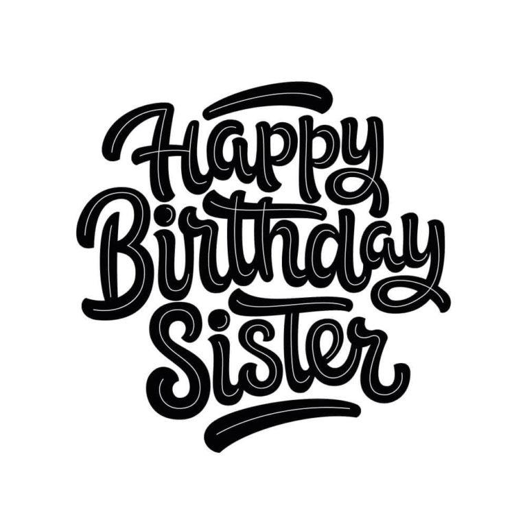 Happy Birthday Sister wishing images