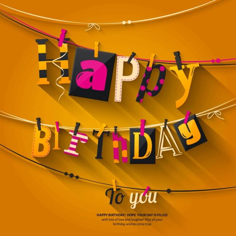 Wishes For Birthday and Images