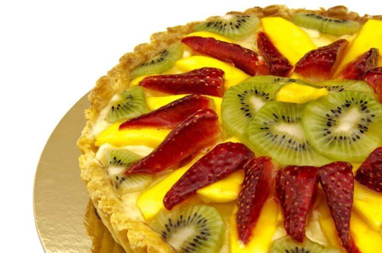 Happy Birthday Fruits Cake Image