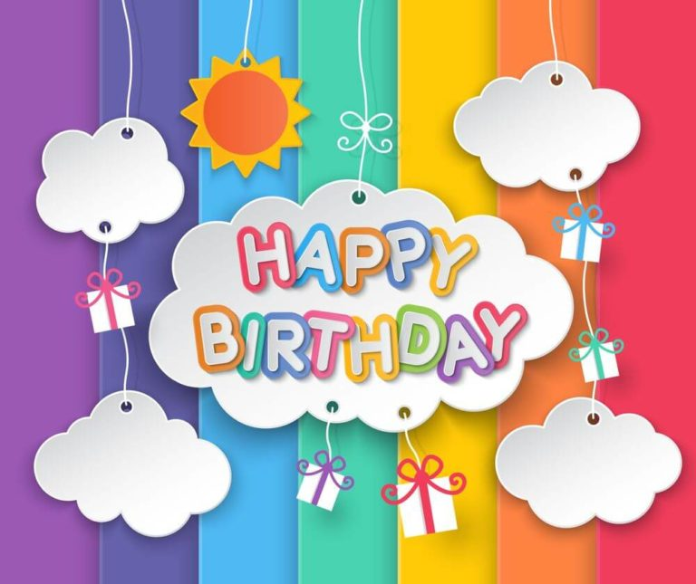 happy birthday in heaven (2)