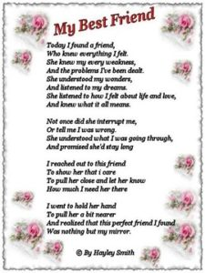 Happy Birthday Best Friend Poem