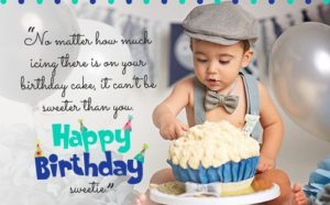 Birthday Wishes For Baby Boy 1st Birthday