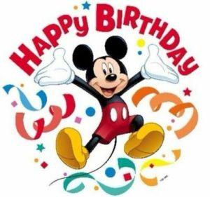 Happy Birthday Mickey Mouse Images and Quotes