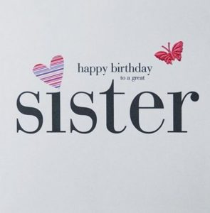 Happy Birthday Sister Funny