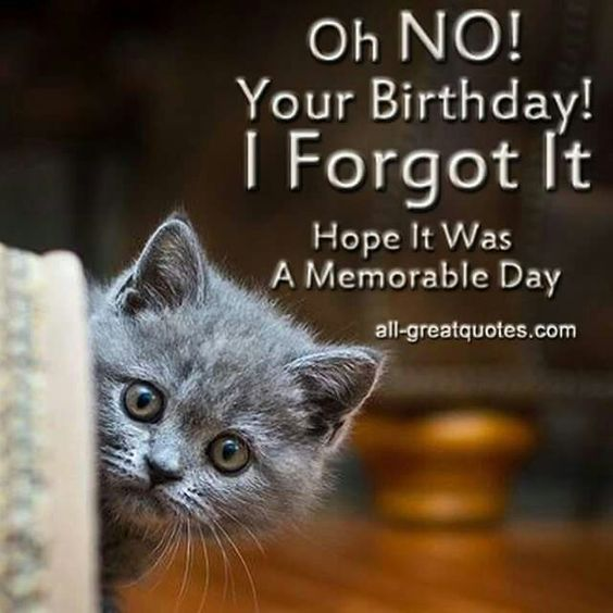 Happy Belated Birthday Images And Quotes
