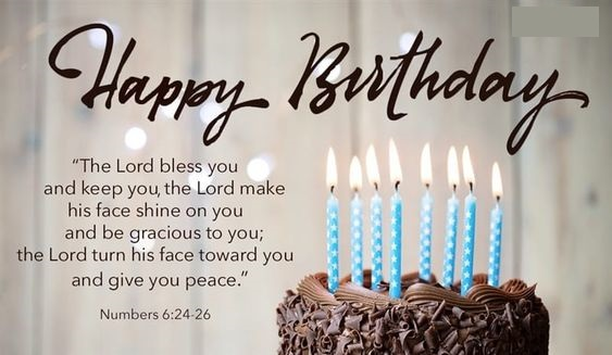 Happy Birthday Bible verses Images & Wishing Quotes