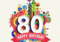 happy 80th birthday banner