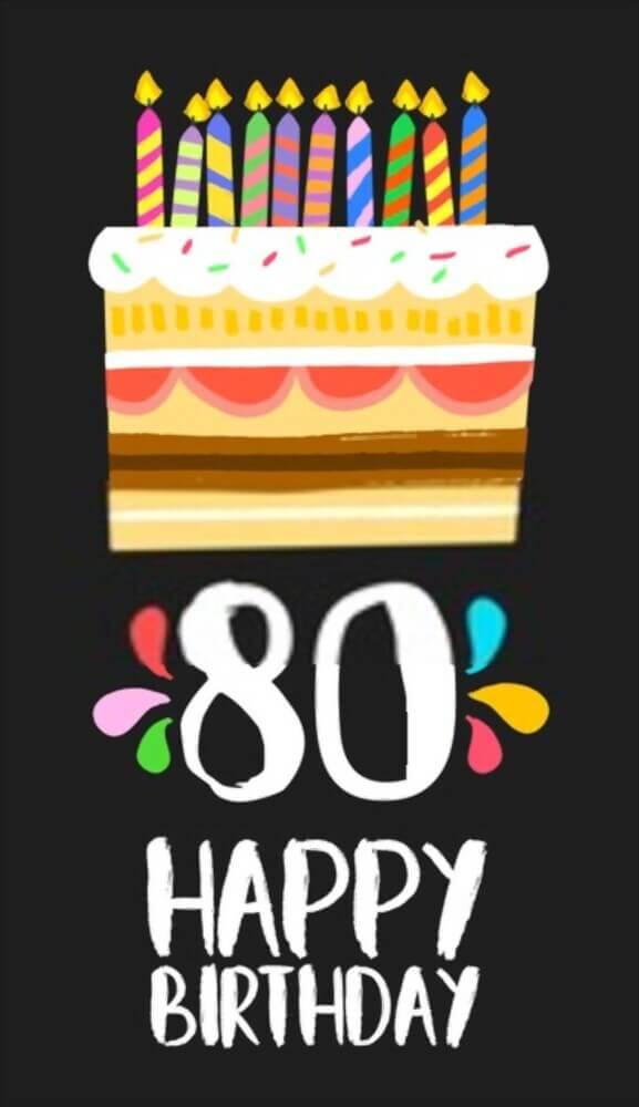 happy 80th birthday dad