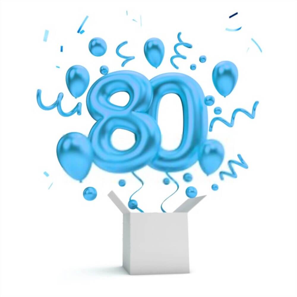 happy birthday 80th