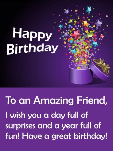 Happy Birthday amazing wishes image