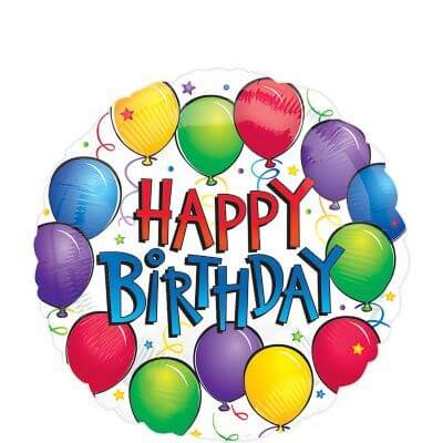 Happy birthday balloon images for kids