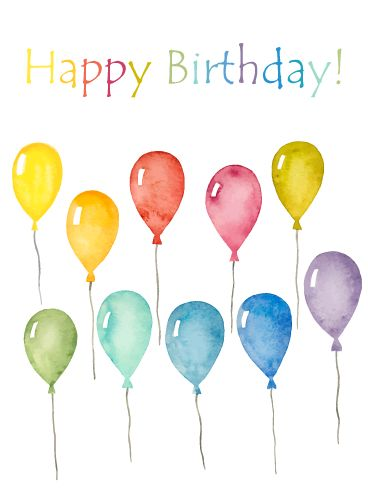 Happy birthday balloon images free download