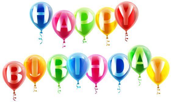 Happy birthday balloon images quotes