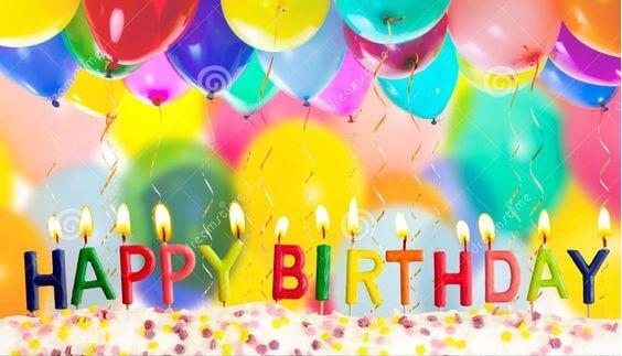Happy birthday balloon photo
