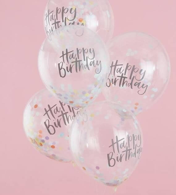 Happy birthday balloon photos