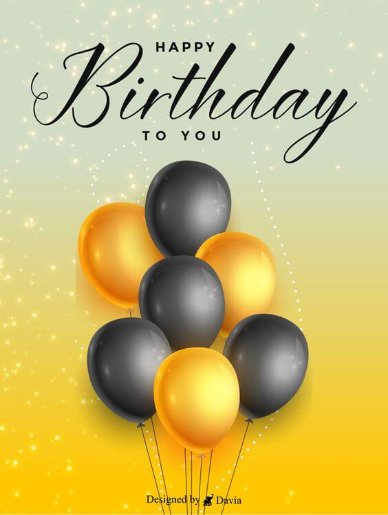 Happy birthday balloon pics