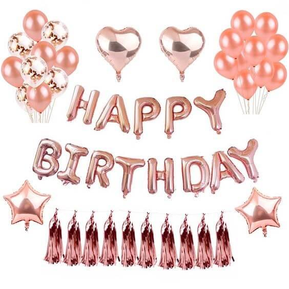 Happy birthday balloon picture