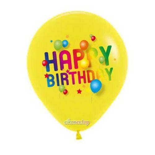 funny Happy birthday balloon images